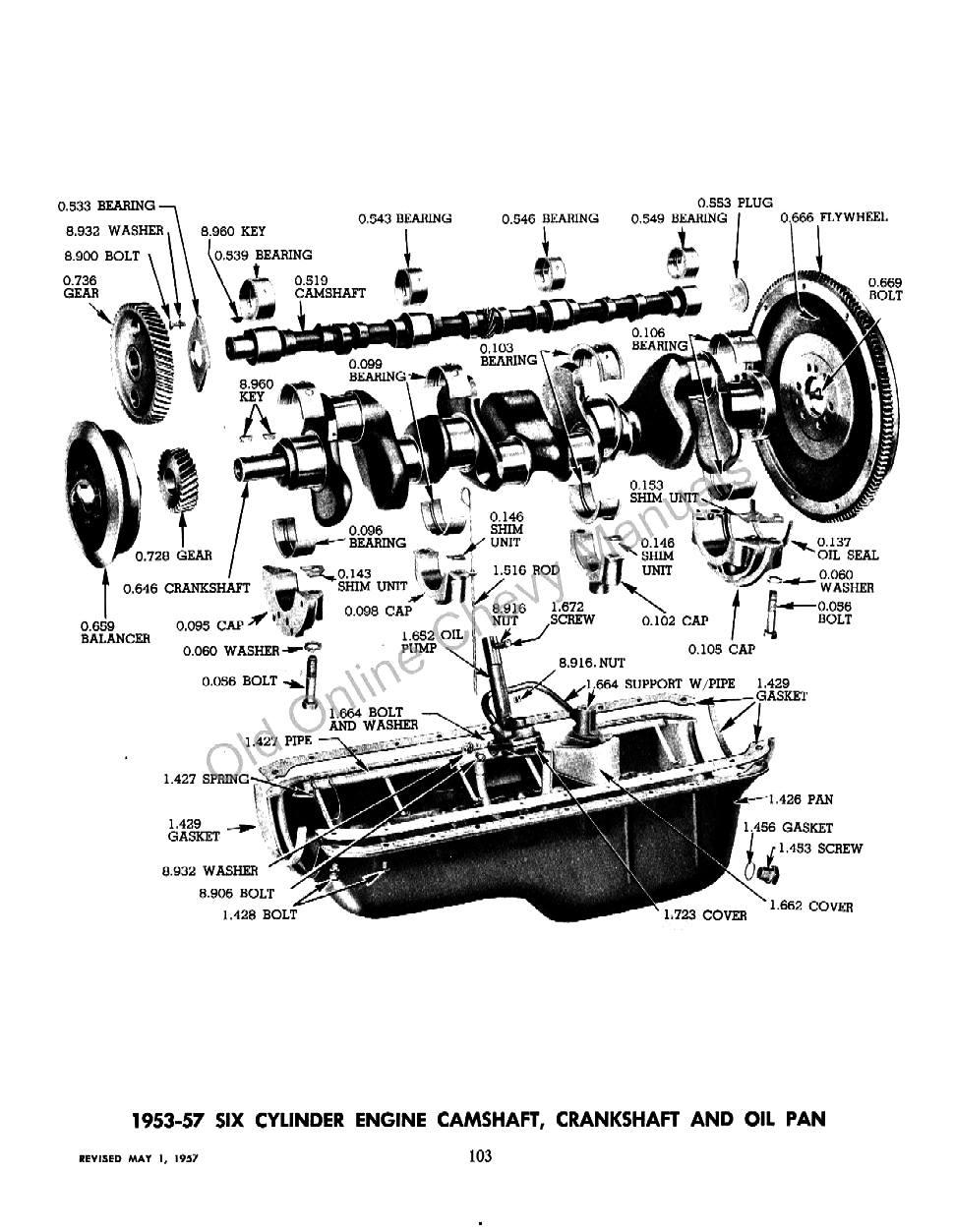 Chevrolet Car Parts Online on 1956 Cadillac Eldorado