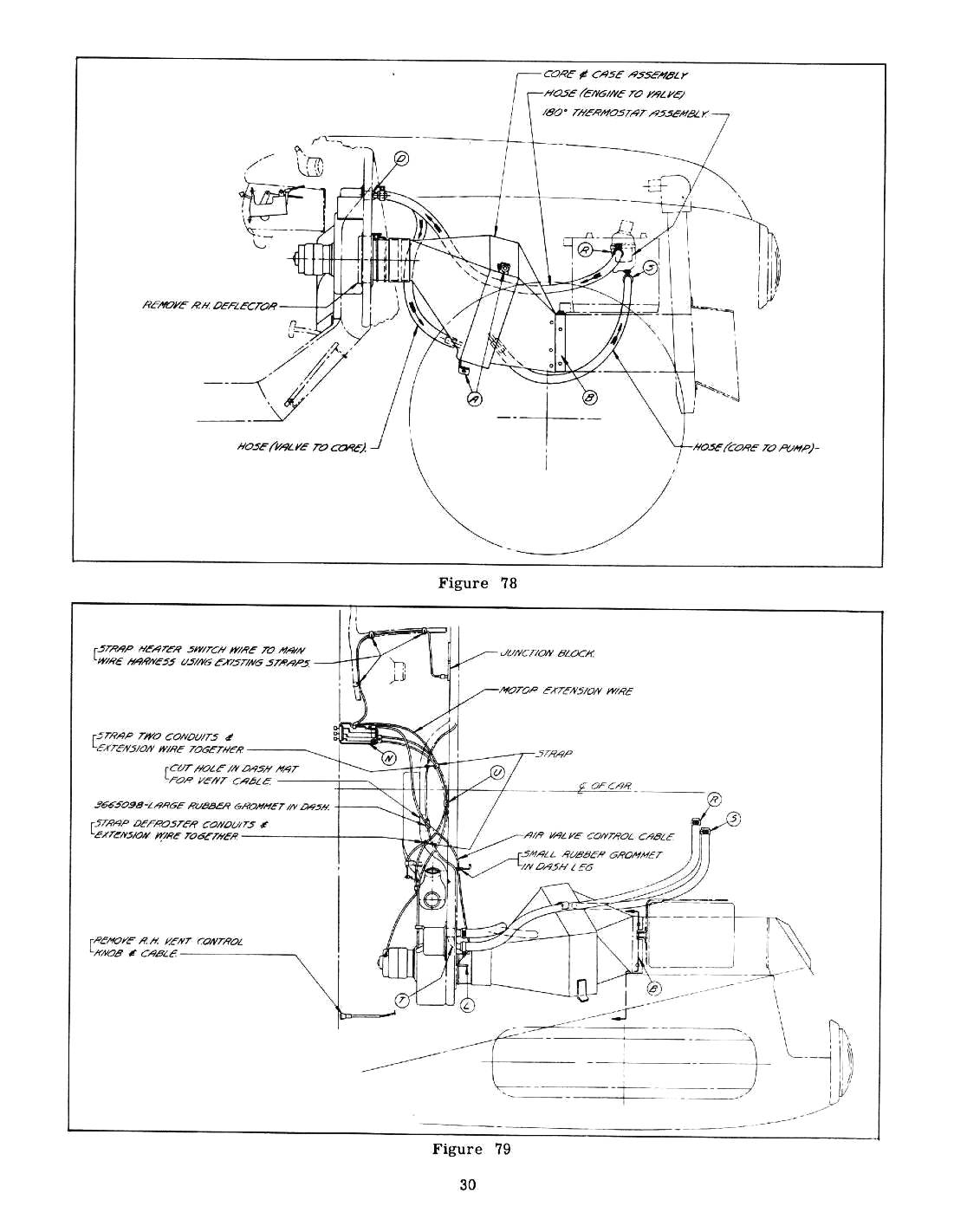 heater hose routing  - chevy message forum