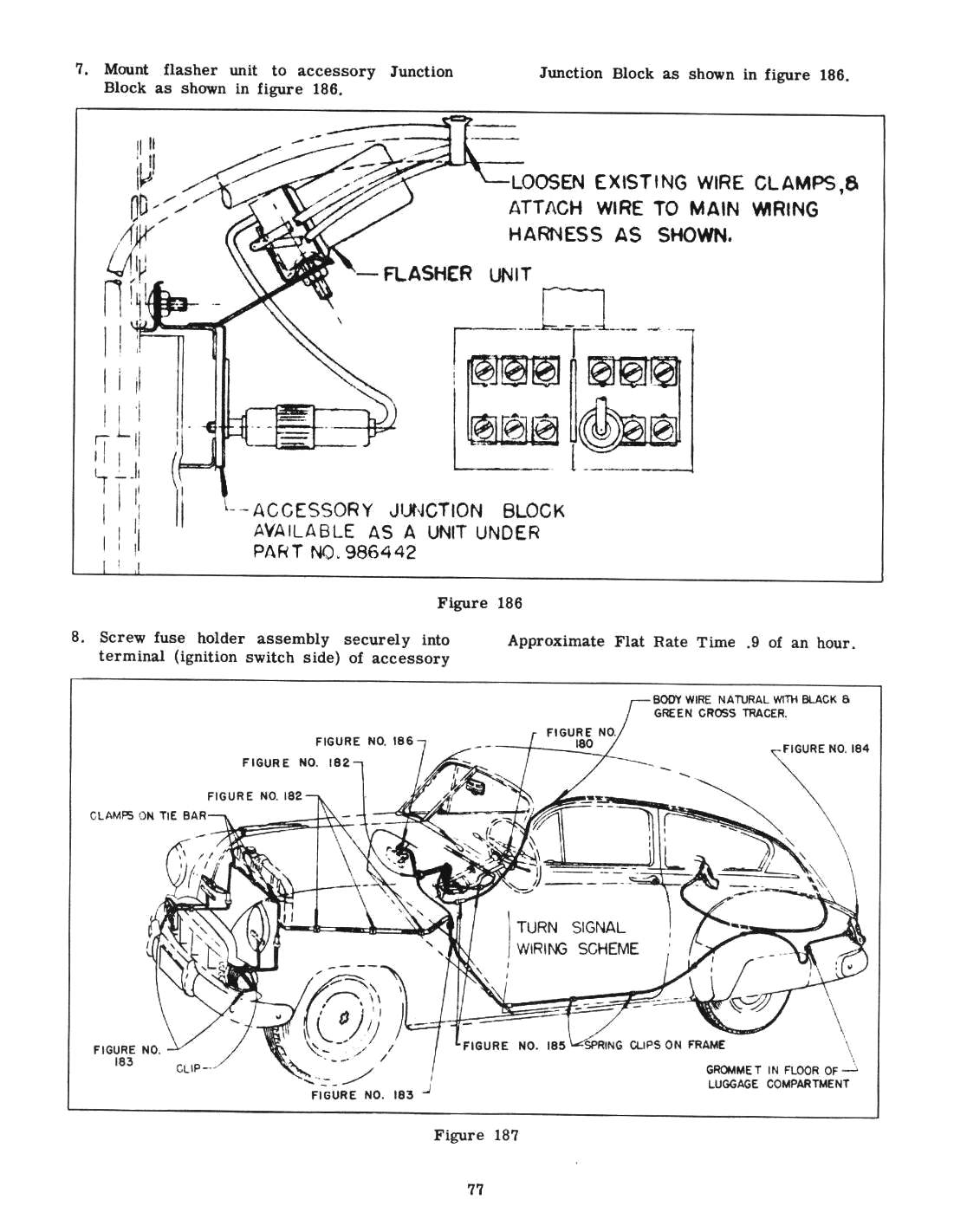 1951 chevy accessories installation manual 1951 chevy wiring diagrams automotive charging system #3