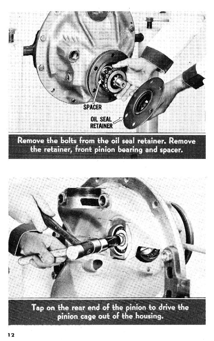 1956 Eaton 2-Speed Rear Axle Overhaul - T-O-P 56-27-S&M
