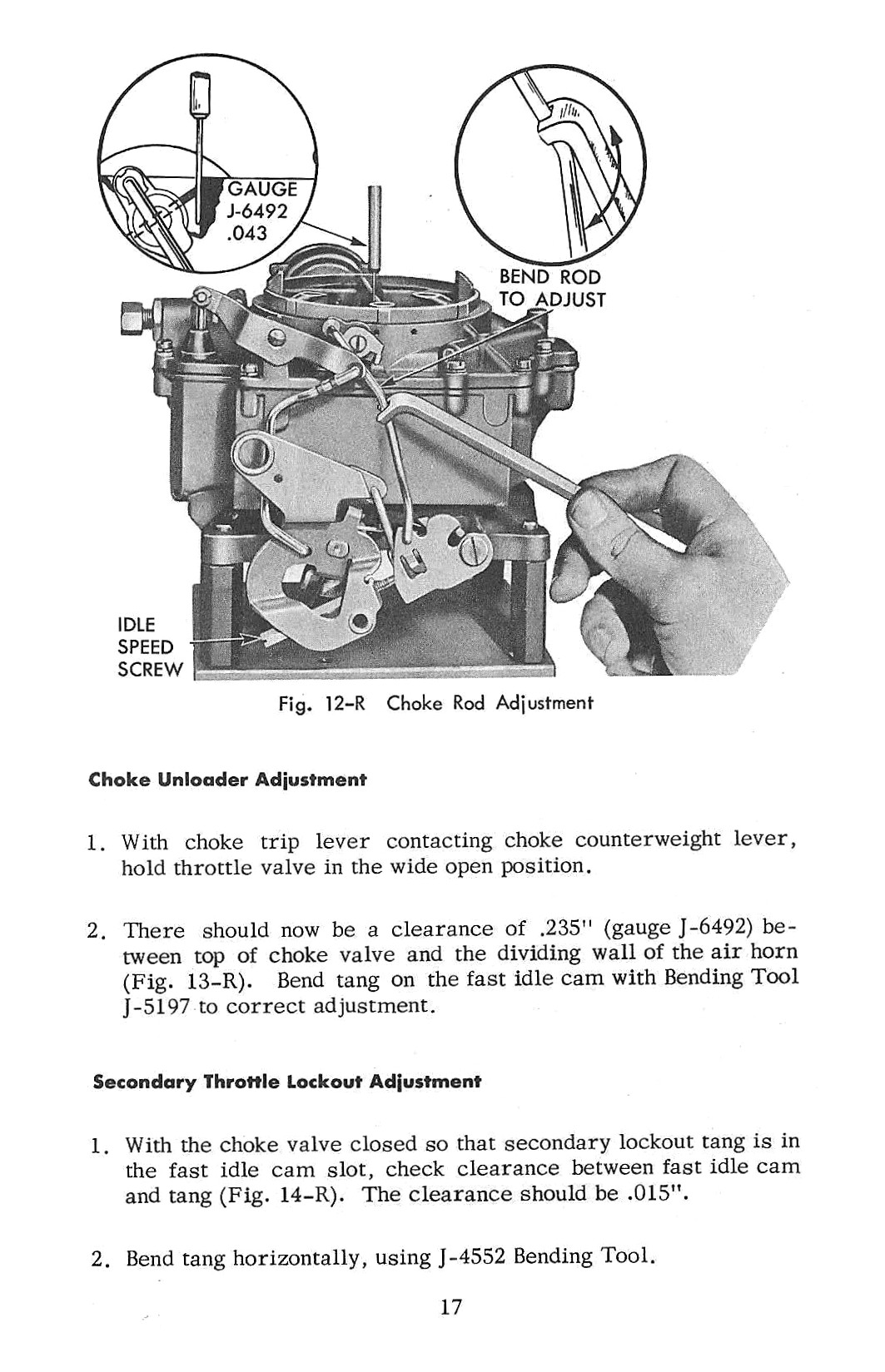 1956 Chevrolet - Four Barrel Carburetor - Single and Duel