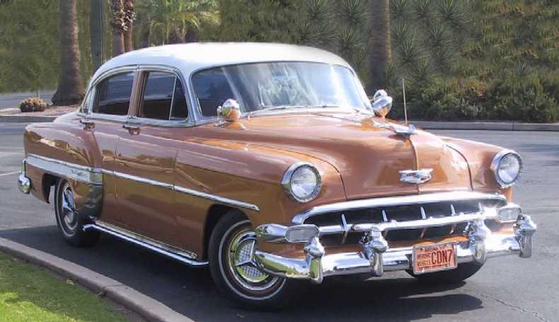 1946 1954 chevrolet scrapbook for 1954 chevy belair 4 door