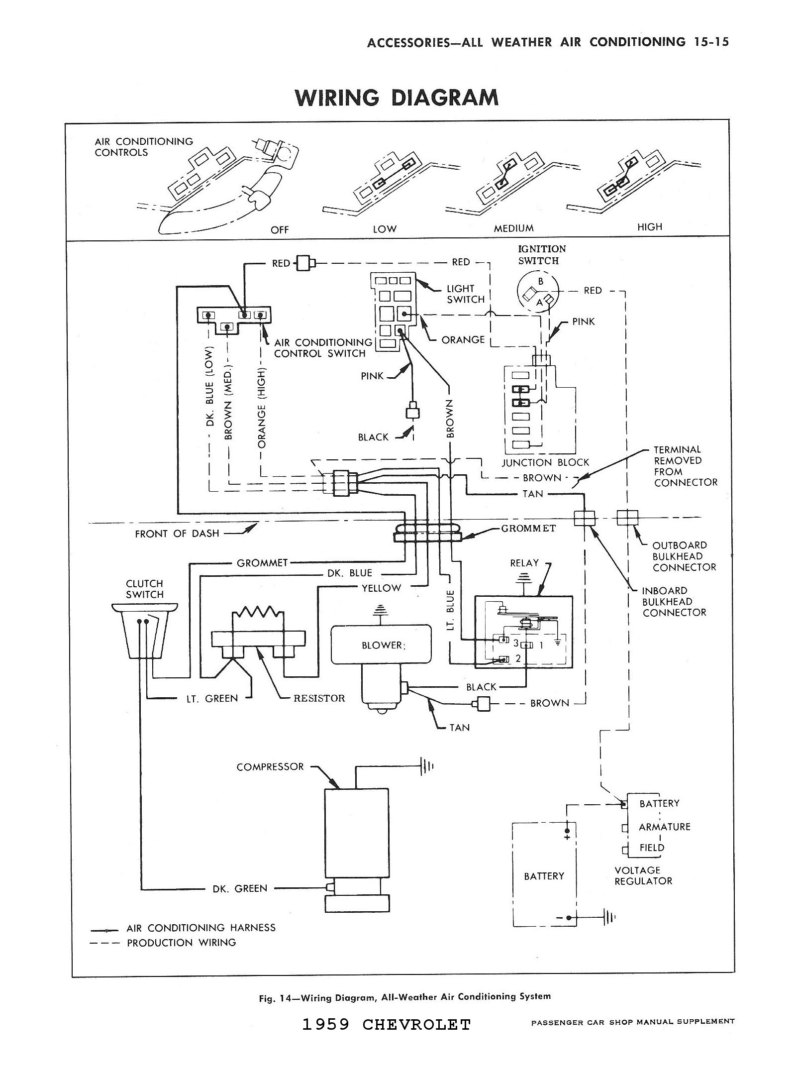 c3 corvette steering column diagram