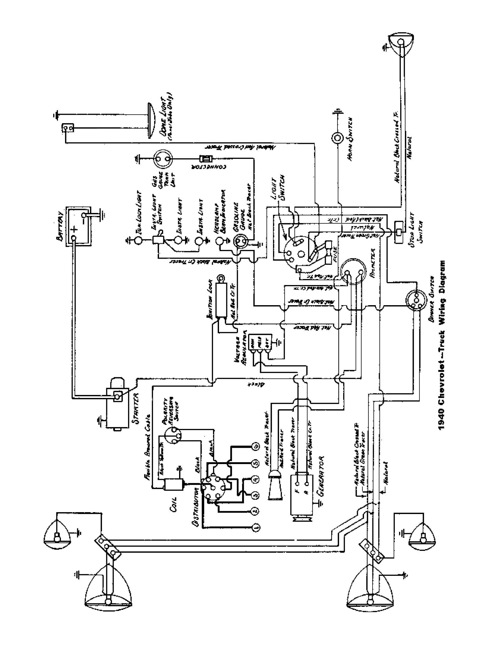 1941 Chevy Wiring Diagram