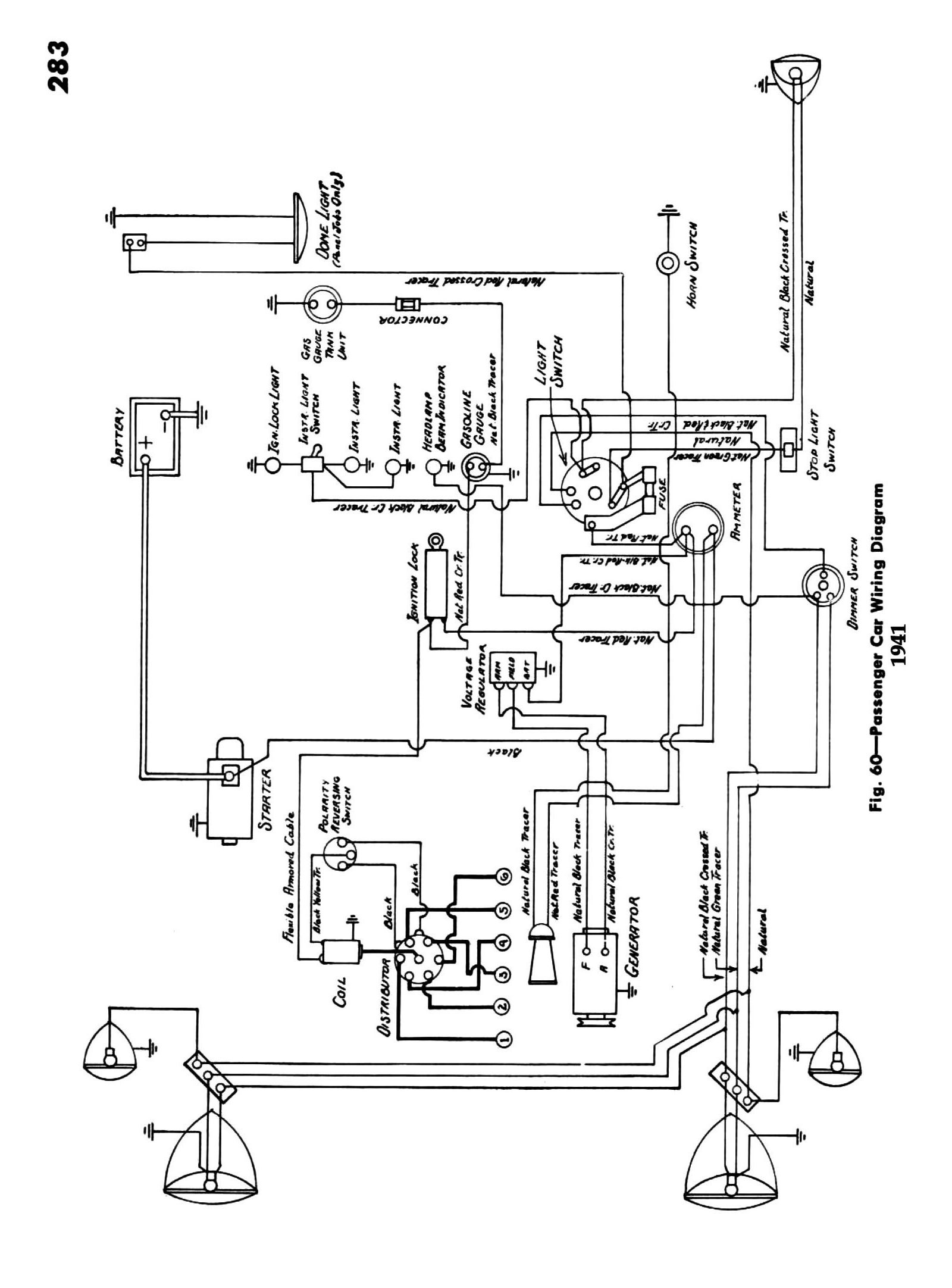 chevy wiring diagrams 1941 1941 car wiring · 1941 passenger car wiring