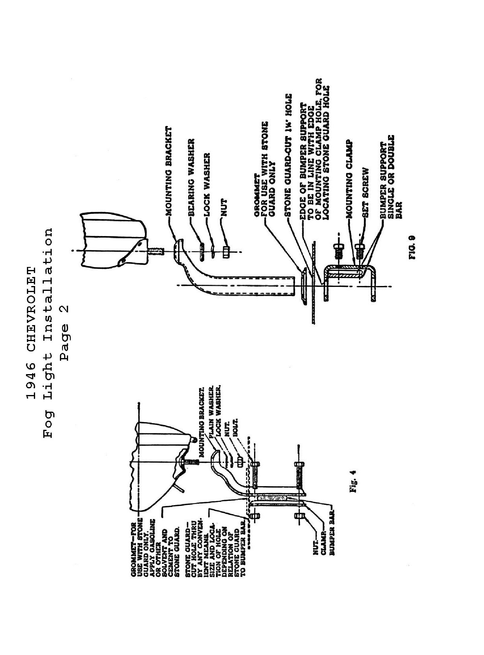 46 chevy sedan wiring diagram