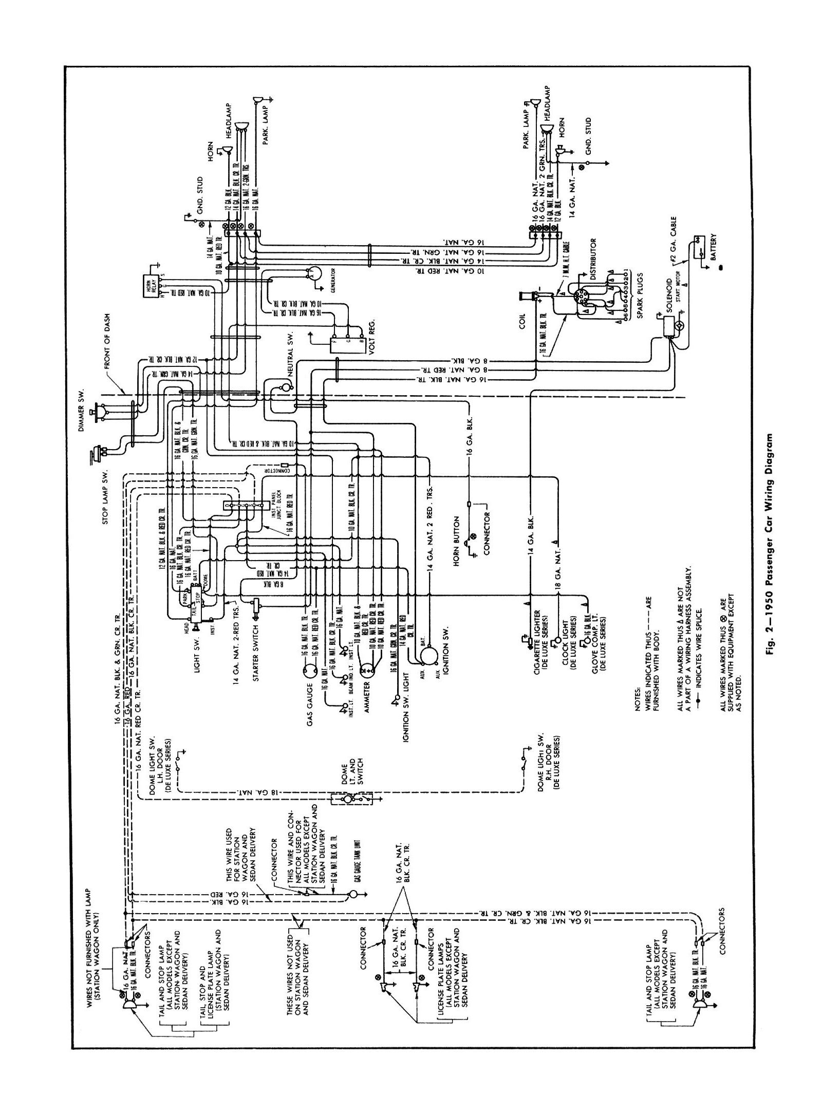 Chevy Wiring Diagrams Diagram In Addition House Circuits 1950 Car General