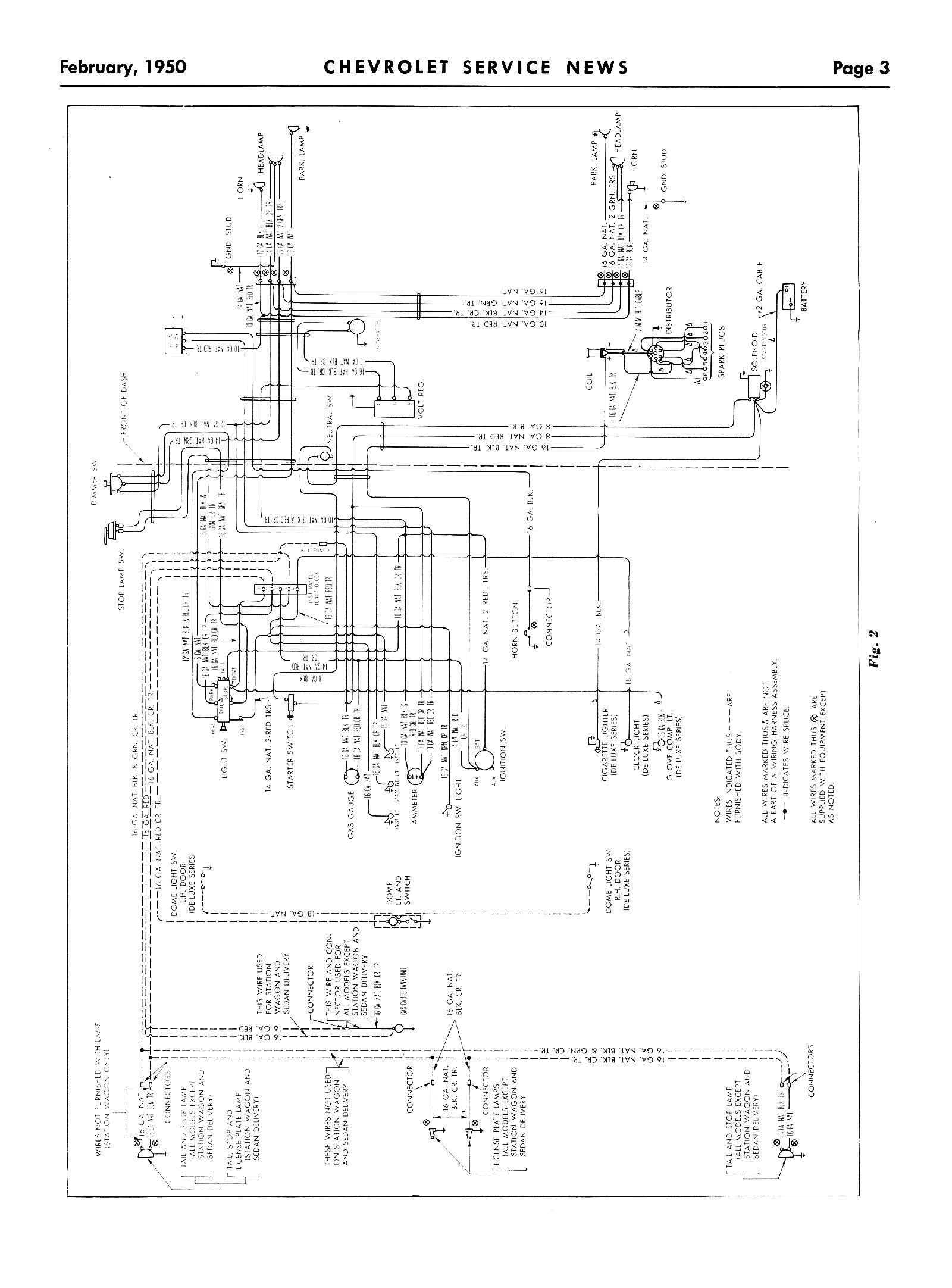 chevy wiring diagrams rh chevy oldcarmanualproject com Chevy Wiring Diagrams Color Chevy 1500 Wiring Diagram