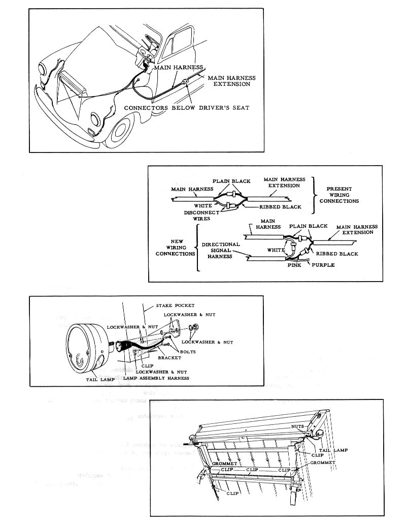 1962 Ford Pickup Electrical Wiring Schematic - Wiring Schematics A Wiring Diagram For Ford Pick Up on