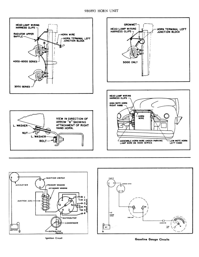 Chevy Wiring Diagrams Parking Circuit Diagram 11