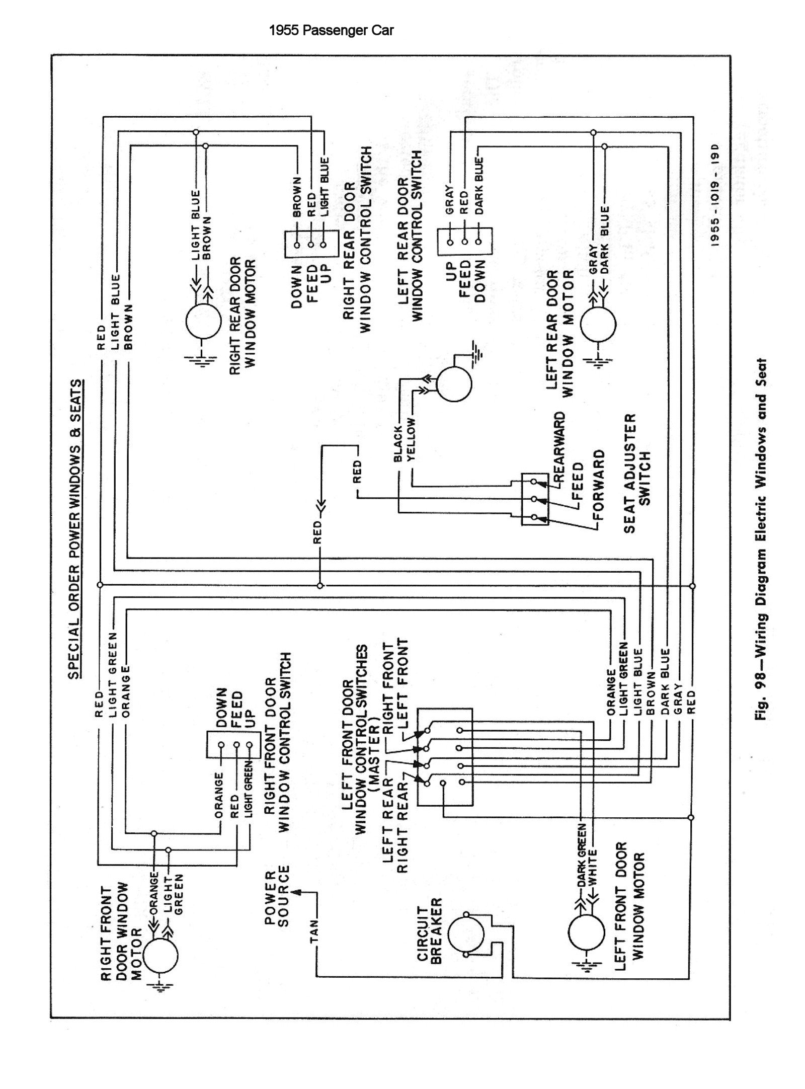 55csm0146 chevy wiring diagrams 1992 Chevy 1500 Sensor Diagram at bayanpartner.co
