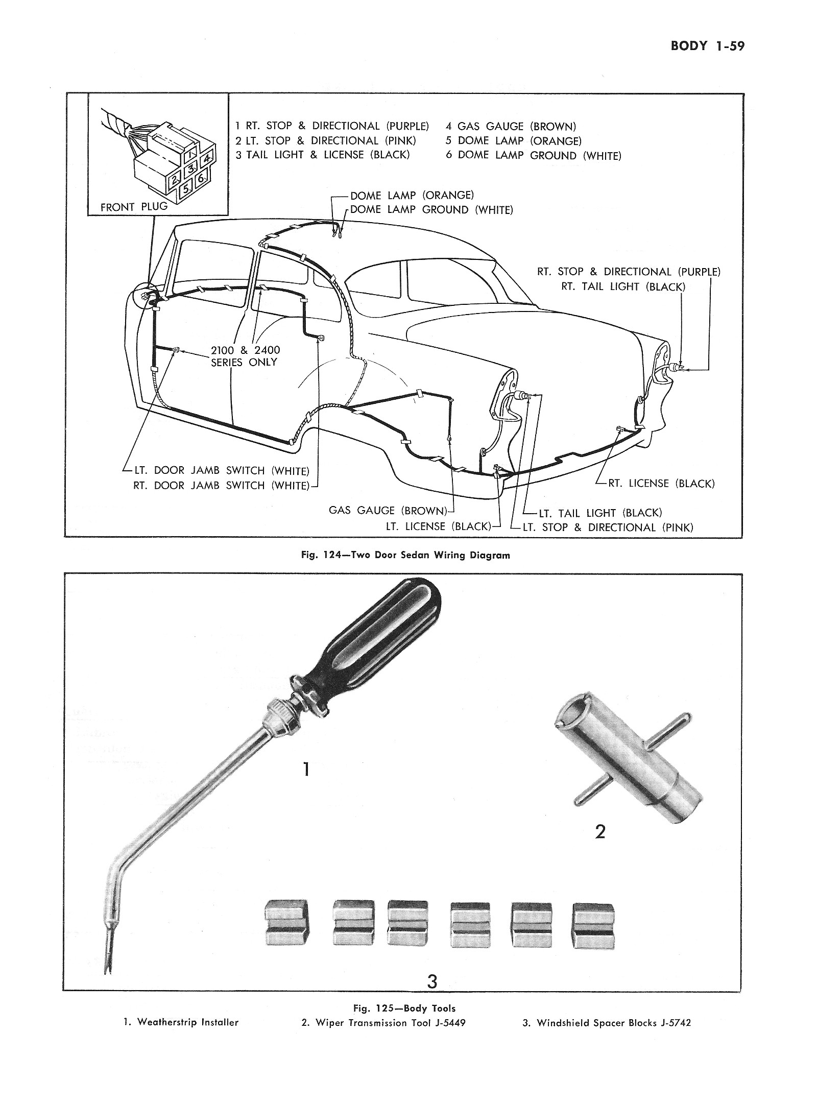 Chevy Wiring Diagrams Diagram For 1964 Chevrolet 6 And V8 Biscayne Belair Impala Part 2 1955 Passenger Car Body 3
