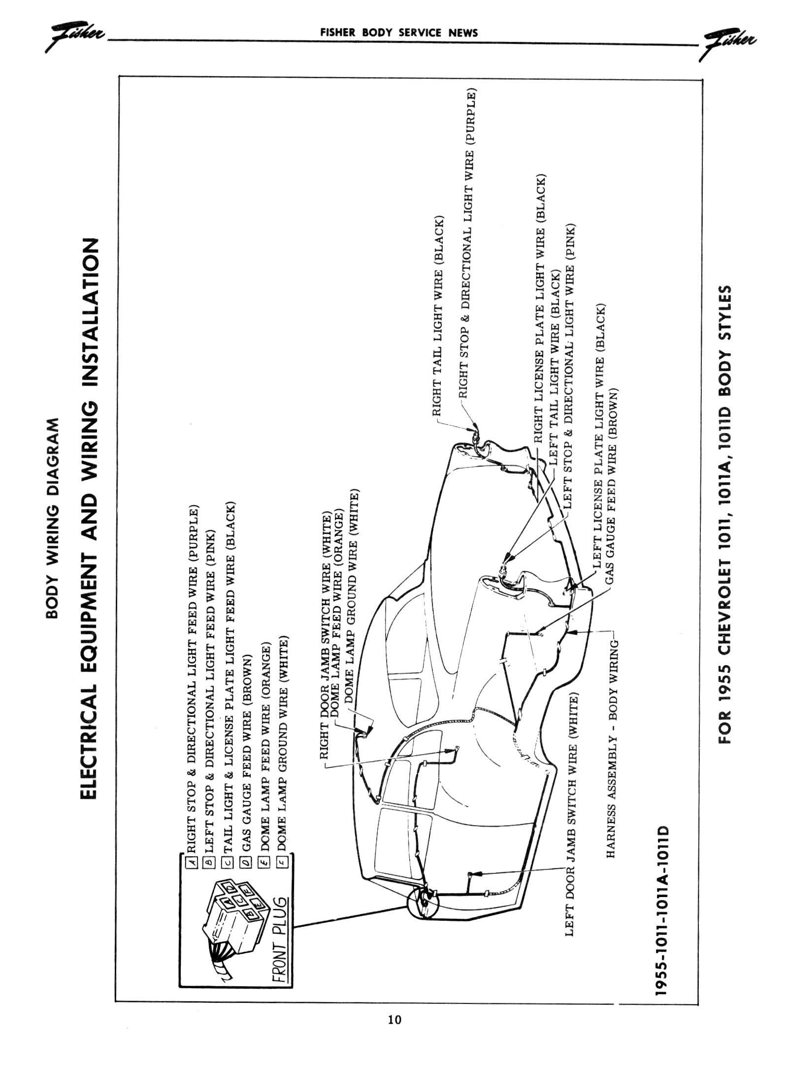 1950 chevy tail light wiring diagram