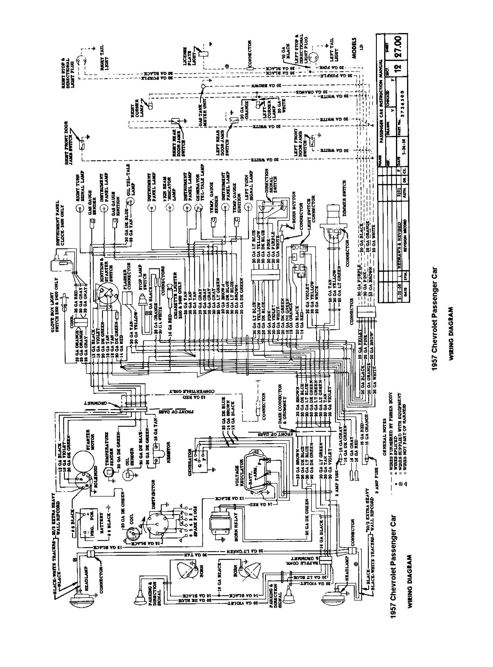 1956 chevy radio wiring diagram