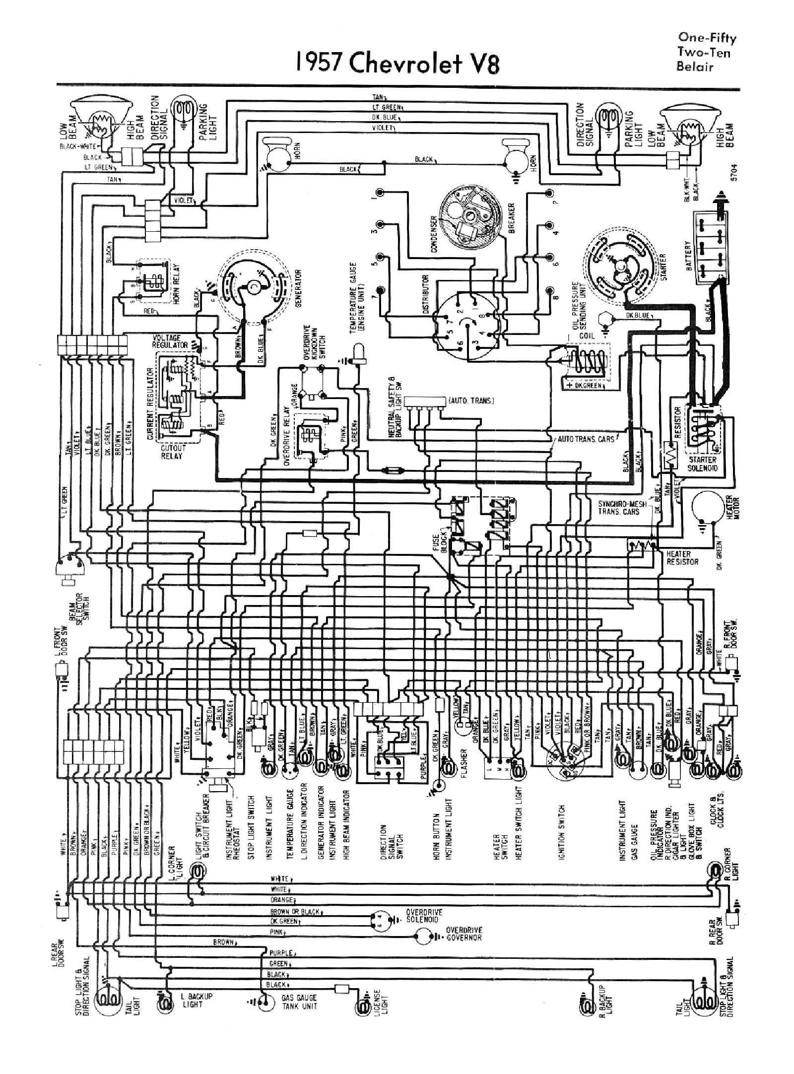 1957 chevy wiring diagram 1957 image wiring diagram 57 chevy wiring diagram 57 home wiring diagrams on 1957 chevy wiring diagram