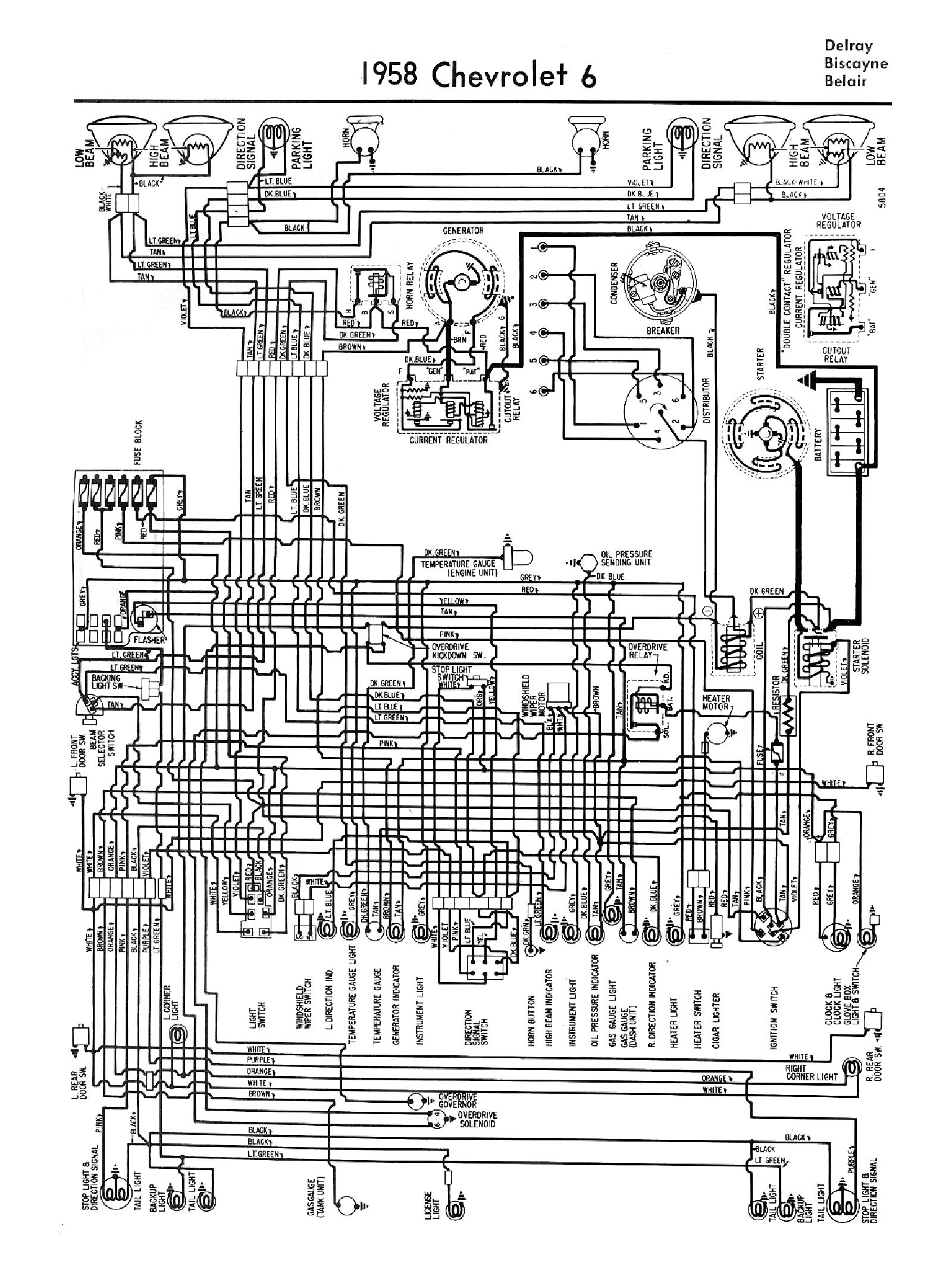 chevy wiring diagrams wiring diagram for 1959 chevy truck #4
