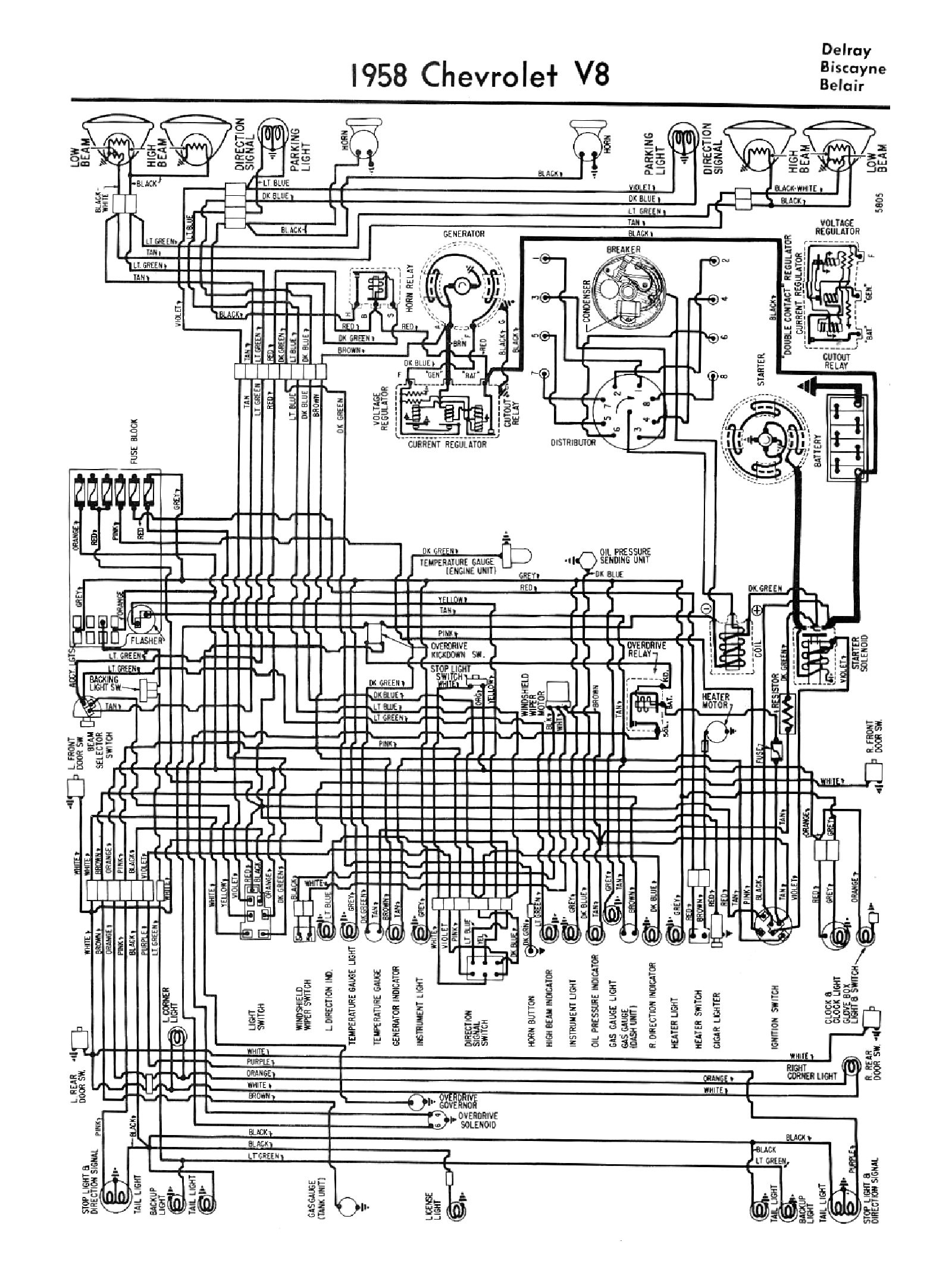 Snap 1954 Chevrolet Wiring Diagram Dash Windshield Wiper Circuit For The 1960 Passenger Car Headlight Switch Test Chevytalk Free Restoration And Repair Help Your