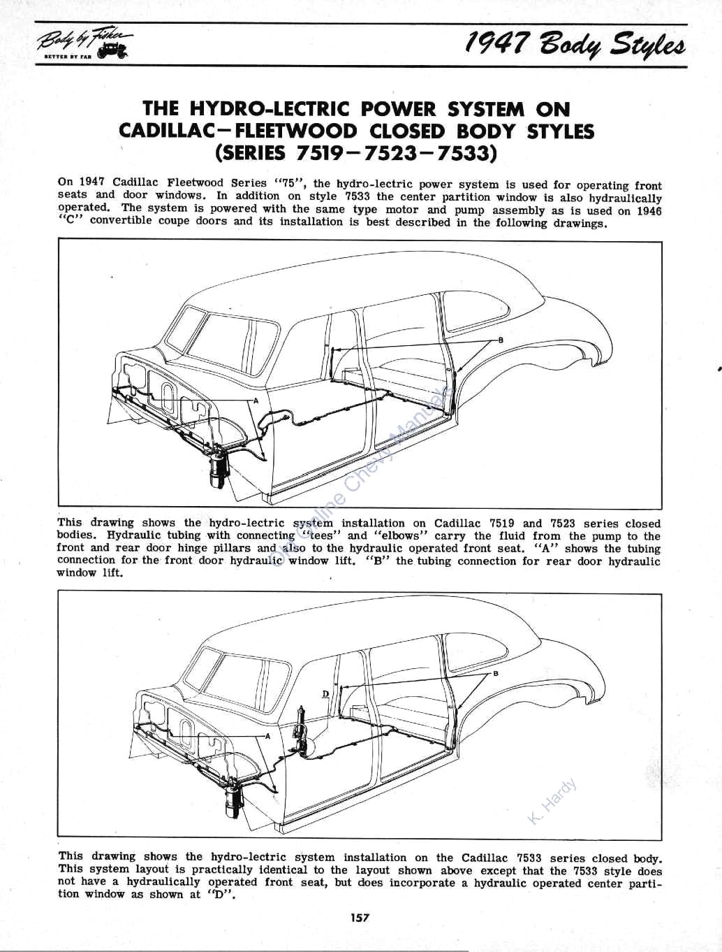 1946 1947 fisher body manual rh chevy oldcarmanualproject com