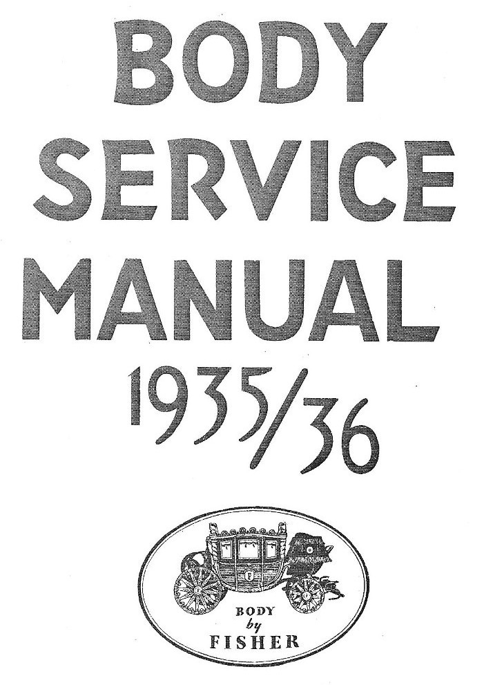 1935 1936 fisher body service manualDome Lamp Wiring Diagram For 1935 36 Fisher #3