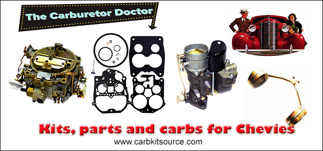 Chevrolet carburetor kits and parts - Carburetor Doctor