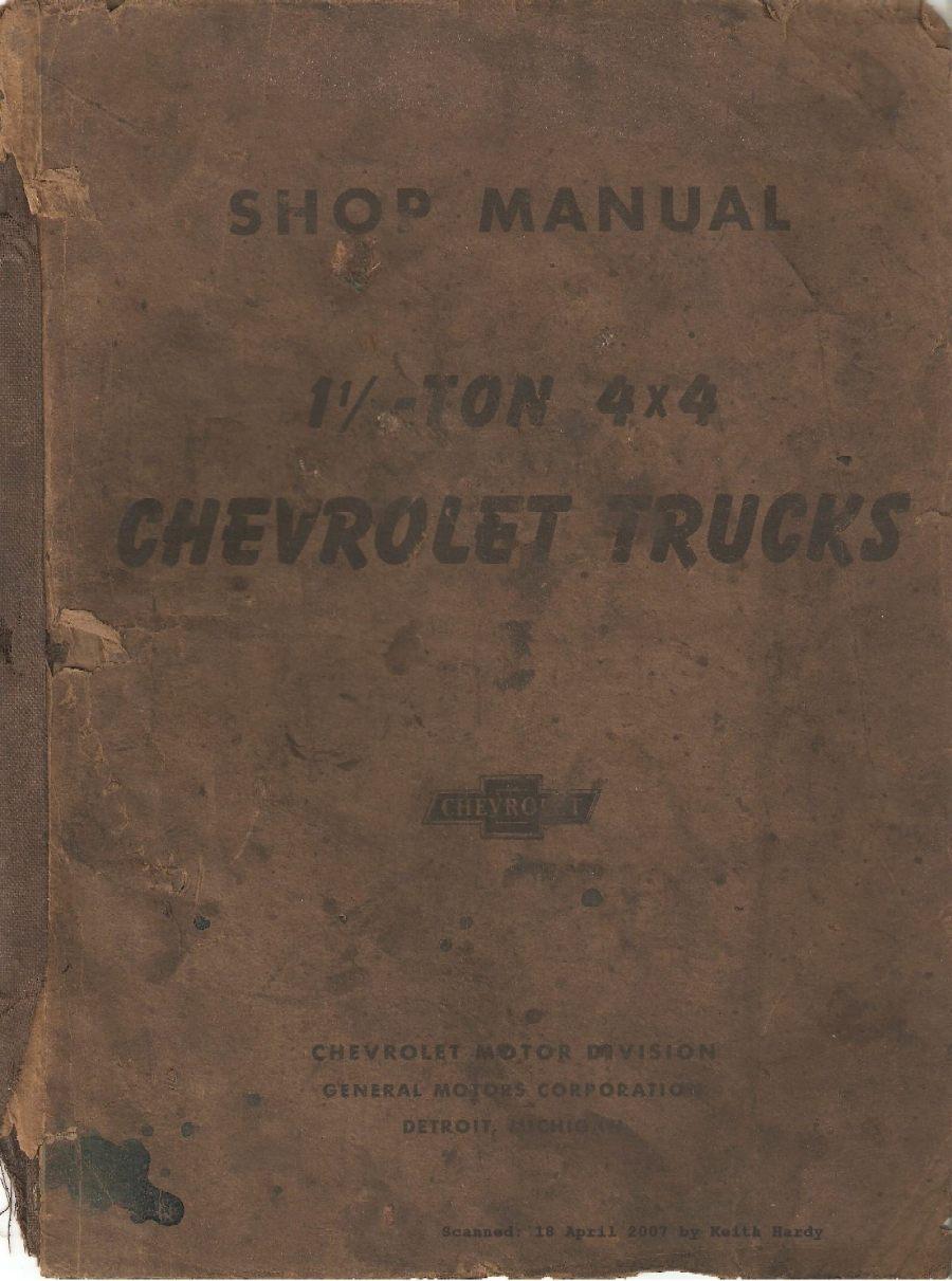 1945 - 1946 Chevrolet Trucks