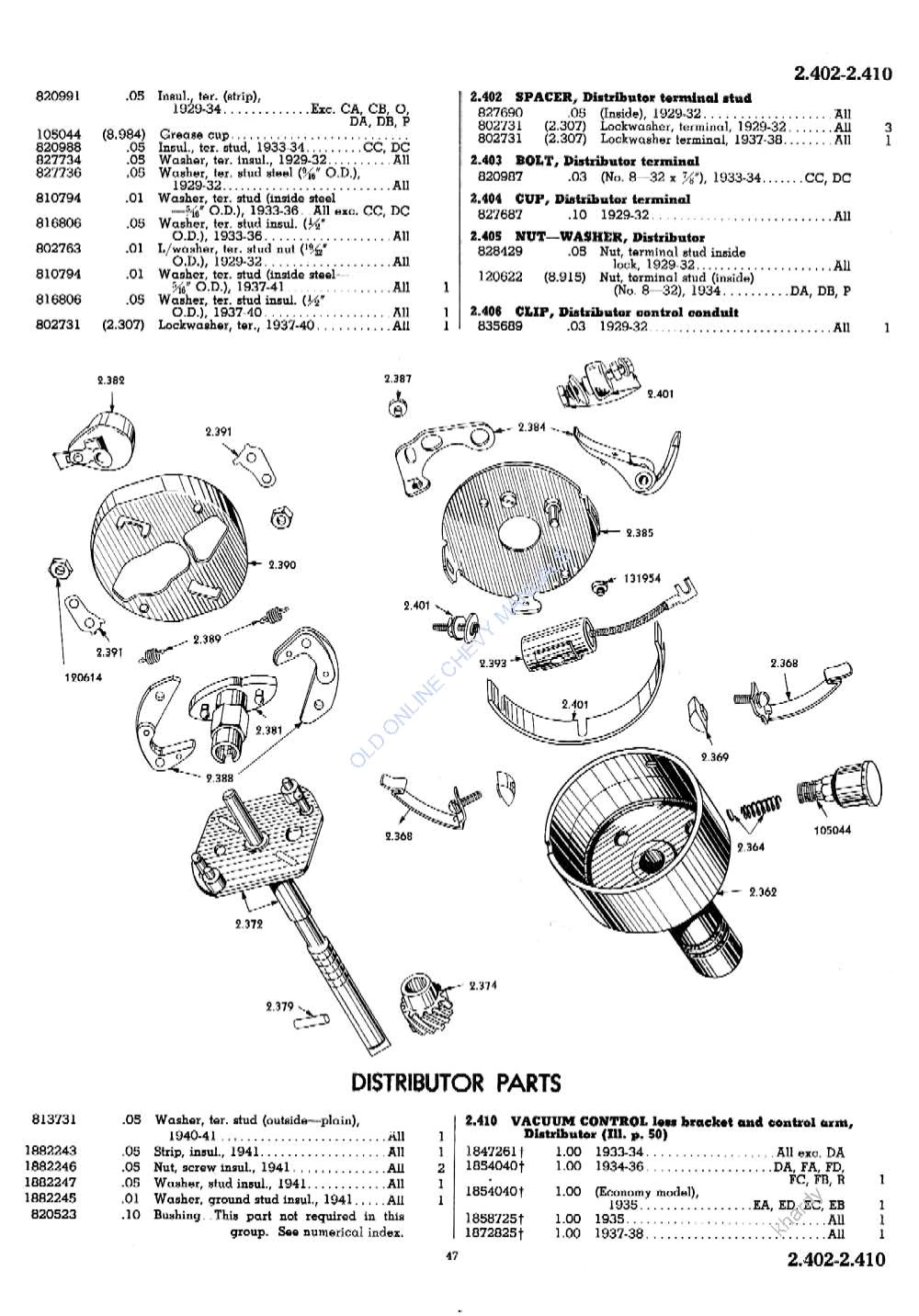 1946 Dodge Truck Parts Catalog on 1952 Willys Pickup Truck