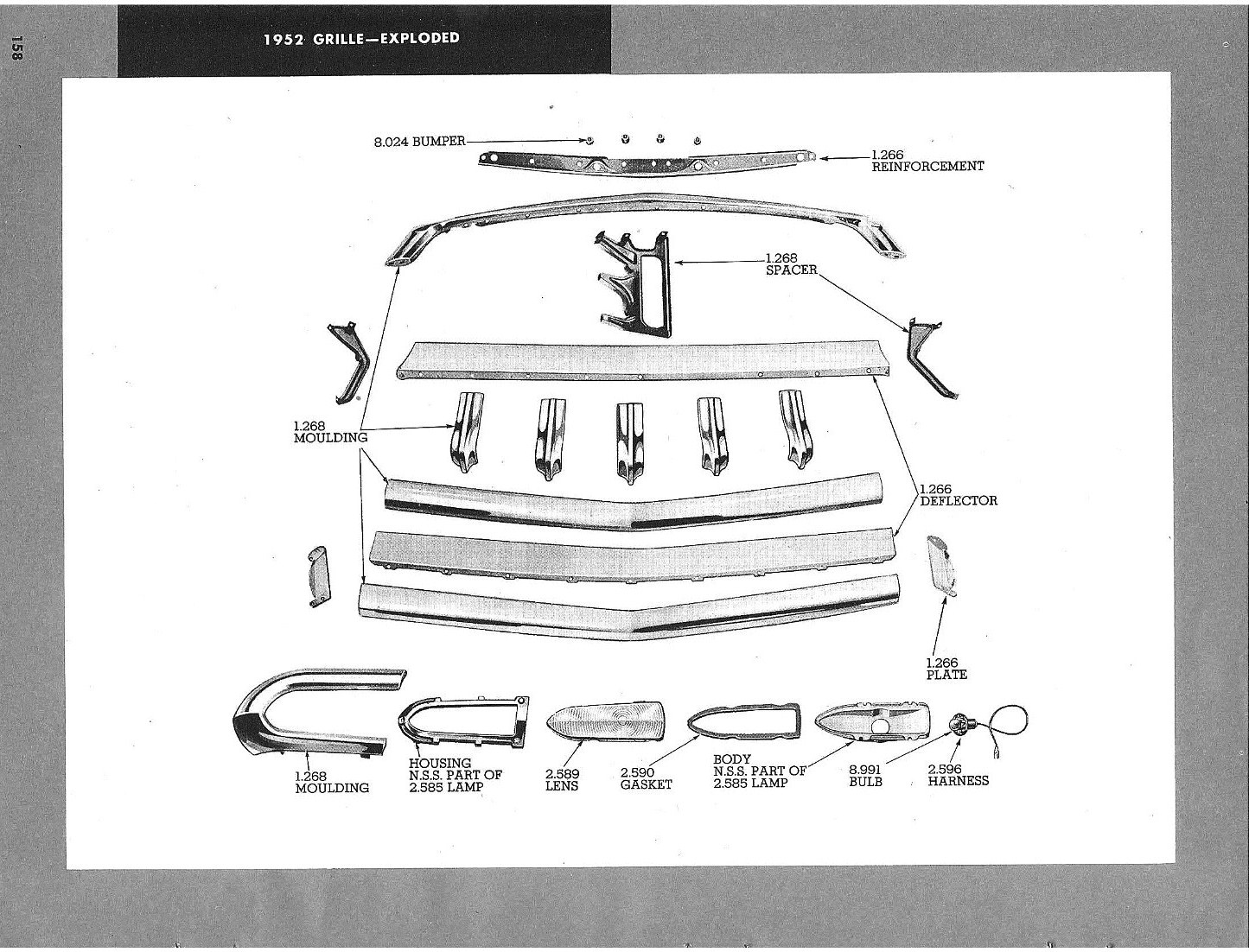 52 Grill Diagram - Chevy Message Forum