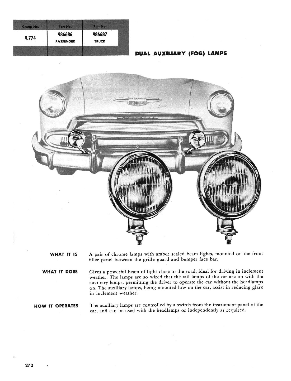 Printing A Post Round Amber Fog Lights Chevy Message Forum 1951 Chevrolet 4 Door Sedan 51 Styleline Special Business Coupe Shadow Gray 53 6500 Dump Bed Oxidized Red 50 Deluxe Mist Green