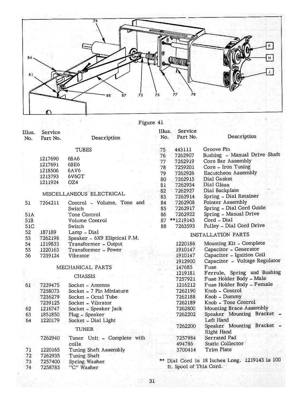 Snap Old Chevrolet Radio Information Online Chevy Manuals Autronic Eye Circuit Diagram For The 1960 Passenger Car 1954 And