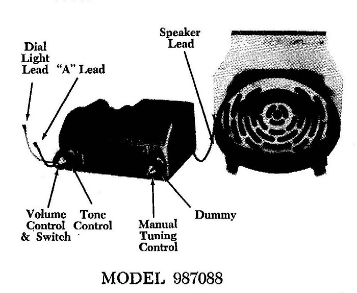 1955 Service Instructions - Chevrolet Custom Deluxe With Push Buttons