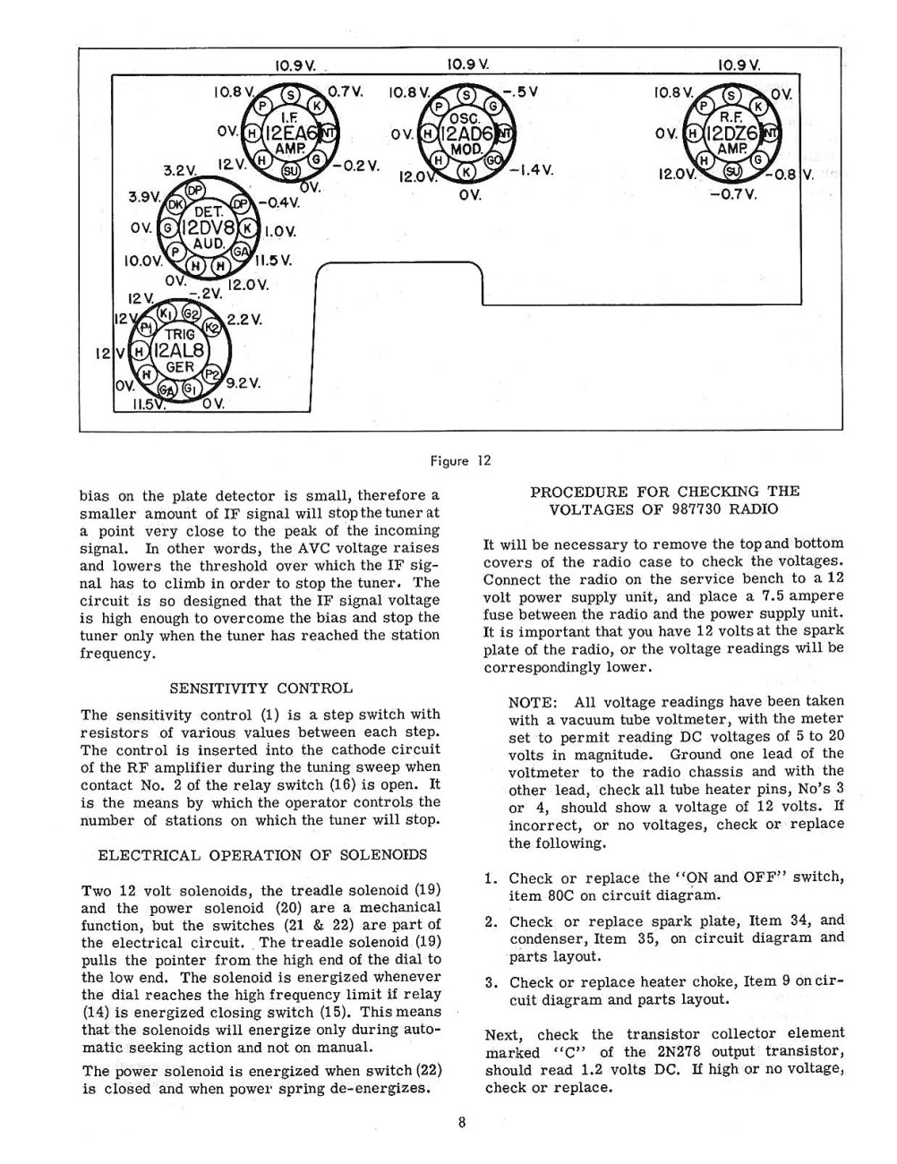 1958 chevrolet radio and autotronic eye service and shop manualAutronic Eye Circuit Diagram Of 1958 Chevrolet #9