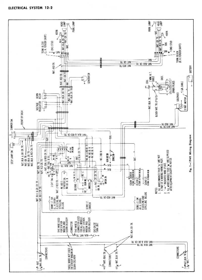 1955 chevy turn signal wiring diagram circuit diagram maker