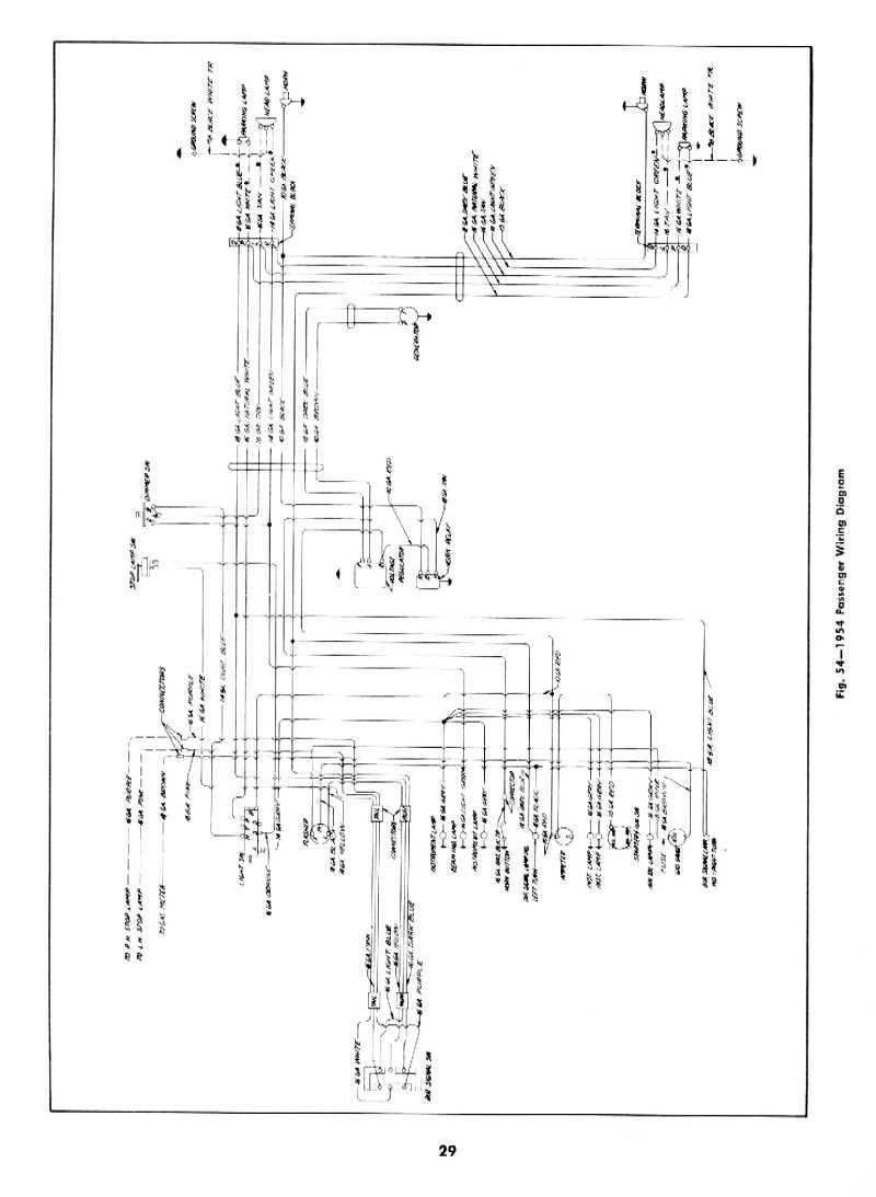 1955 chevy bel air turn signal wiring diagram