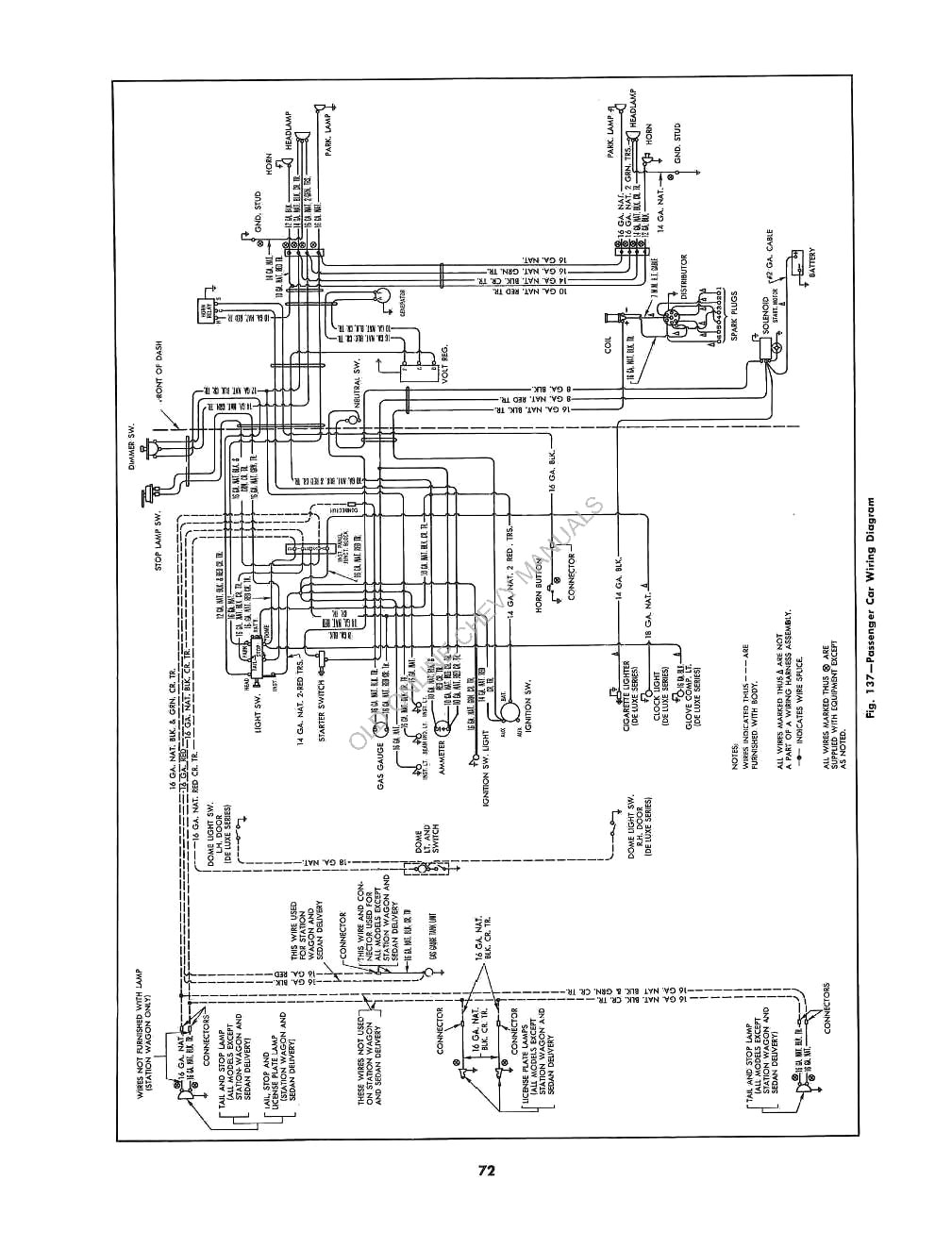 1950 chevrolet passenger car maintenance manual