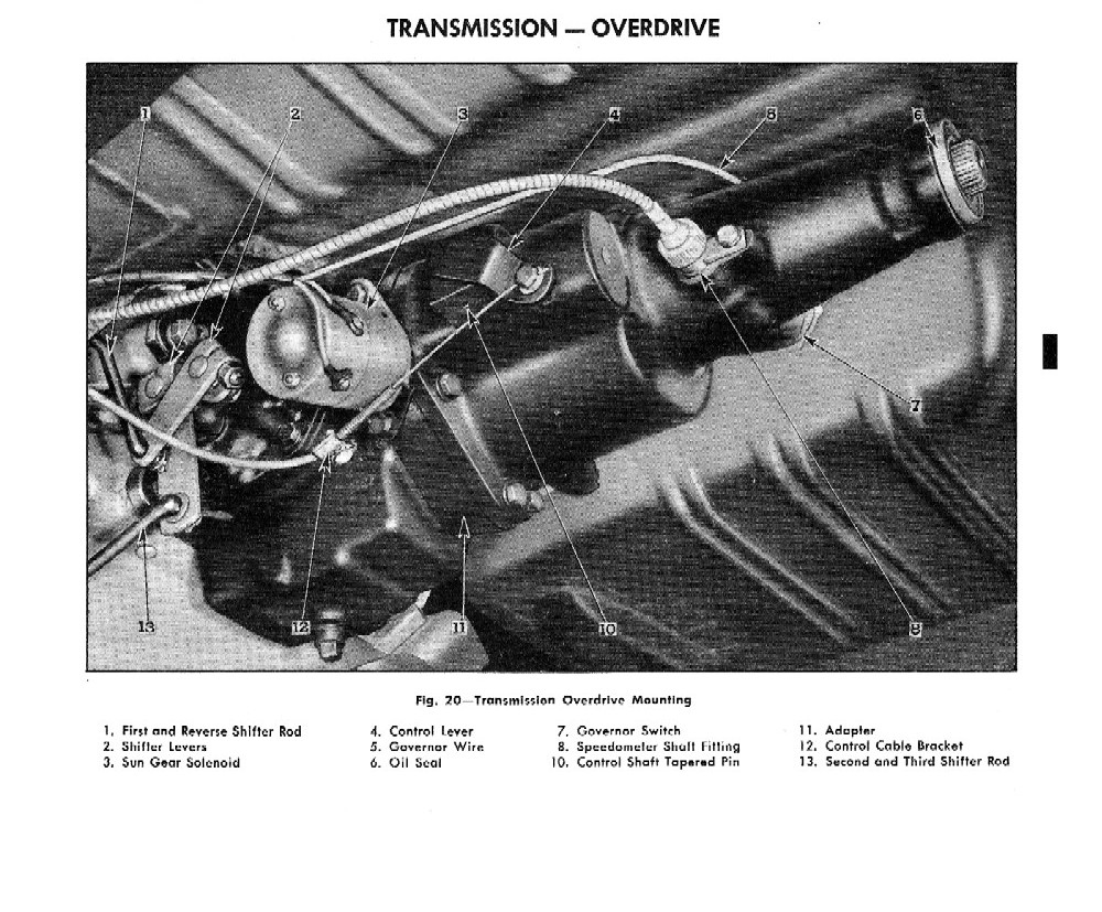 1955 Chevrolet Passenger Car Shop Manual Chevy Malibu Engine Diagram Sensor