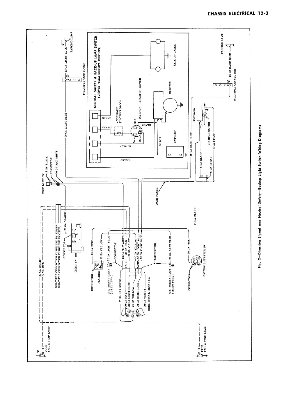 1955 chevrolet wiring diagrams  u2013 1955 classic chevrolet