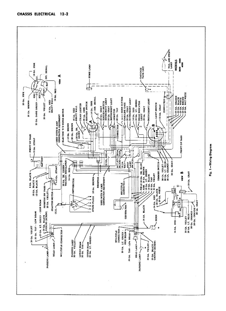 57 chevy starter wiring diagram