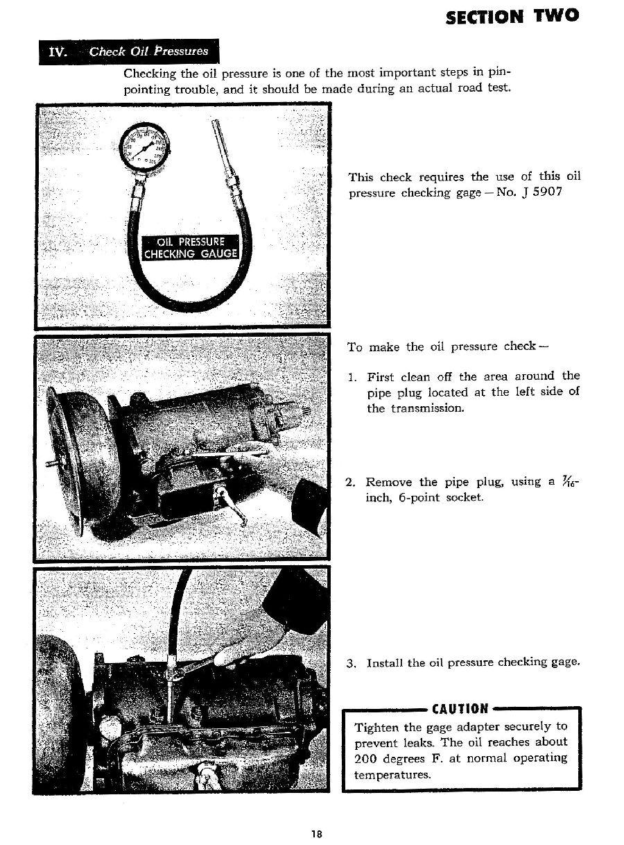 "Manual Transmission >> 1946 - 1955 Hydra-Matic Transmission ""On the Car ..."